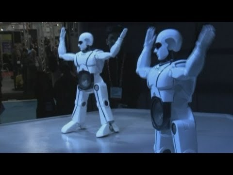 CES 2013: Dancing robots, paper computer tablets and 3D printers launched in Vegas