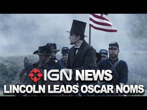 IGN News – Lincoln Dominates Oscar Nominations