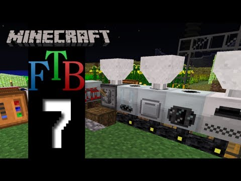 Minecraft Feed The Beast – S2E7 – A New Toy!