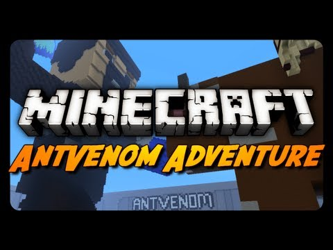 Minecraft Maps – The AntVenom Adventure Map! – Part 1