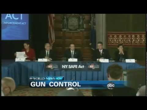 WEBCAST: Gun Control Debate Heating Up