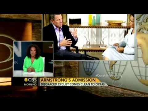 Lance Armstrong on Oprah: Talk show host previews her exclusive interview