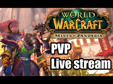 World of Warcraft Feral druid PVP live stream