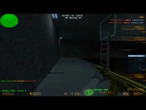 Counter-Strike Xtreme V6 Zombie mode 3 Game Play