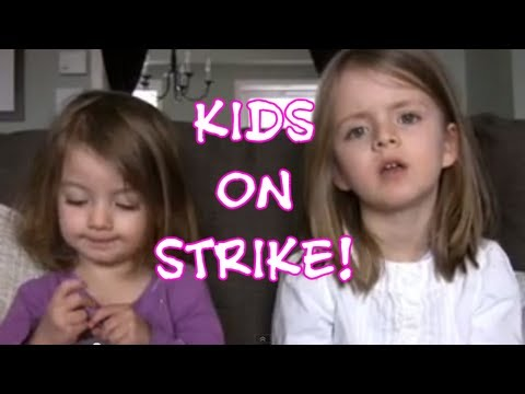 MOMMY I IS ON STRIKE!