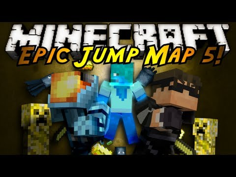 Minecraft: Epic Jump Map Butter Edition Part 1!