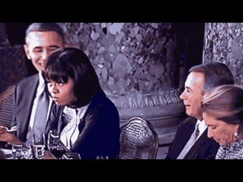 Michelle Obama Eye Roll, Obama Gum Chewing Light Up Twitter – Inauguration 2013