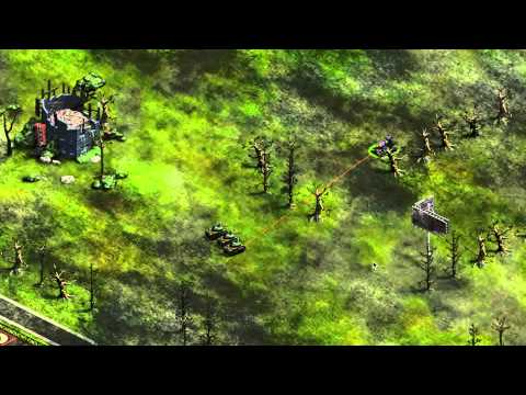 War Commander: Operation Red Storm – Laser Tank Trailer [HD]