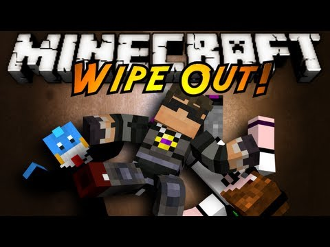 Minecraft Mini-Game : WIPE OUT!