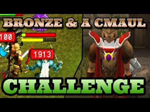 Runescape Pking Challenge – Bronze and a Cmaul – So Wreck3d