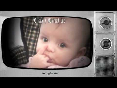 Funny Babies: Scaring The Baby! Dad Scares Baby With Her Finger Up Her Nose!