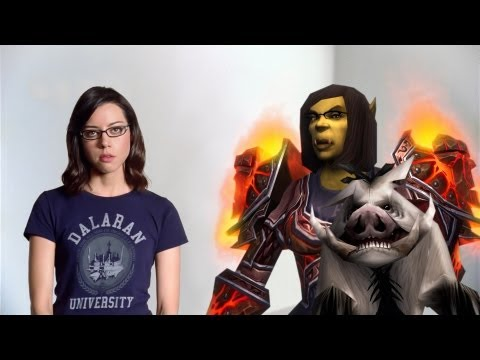 "World of Warcraft TV Commercial: Aubrey Plaza – ""Big O"""