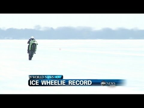 WEBCAST: Ice Wheelie Record