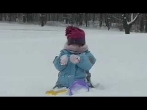 Funny Babies: SNOW STORM BLIZZARD KIDS I Lost My Shovel Movie