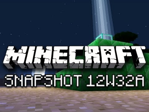Minecraft: Pyramid Beacons, Testificate Zombies and More! (Snapshot 12w32a Overview)