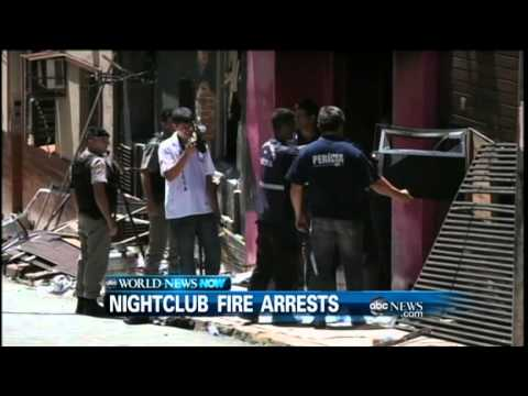 WEBCAST: First Arrests Made in Brazil Nightclub Fire