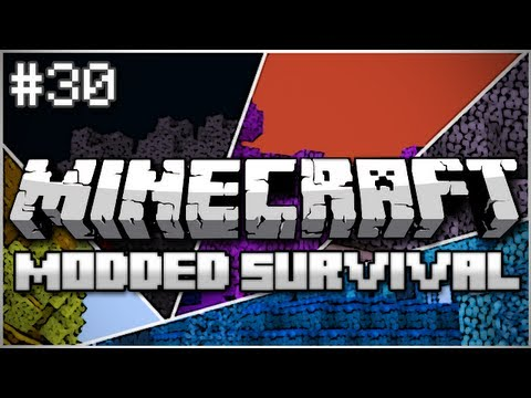 Minecraft: Modded Survival Let's Play Ep. 30 – Introducing Land Shark