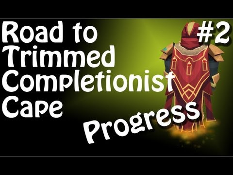 Runescape: Road to Trimmed Completionist Cape – Episode 2 – Progress – HD