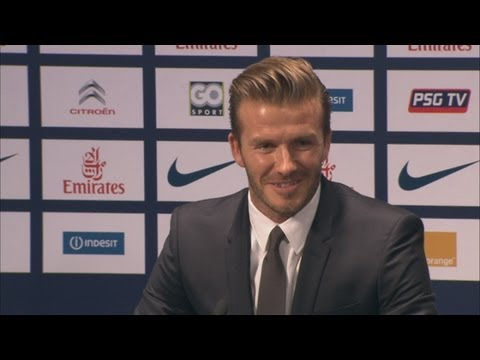 David Beckham reveals he will donate his salary from PSG to charity