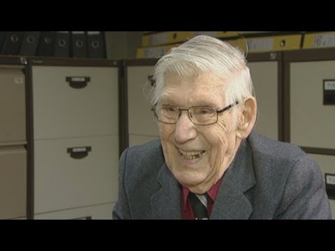 The 100-year-old office worker: The world's oldest temp?