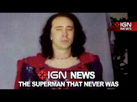 IGN News – Kickstart a Nic Cage Superman Documentary