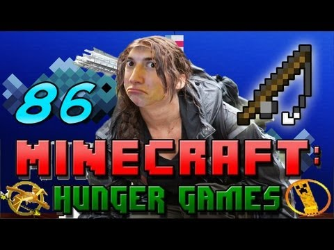 Minecraft: Hunger Games w/Mitch! Game 86 – Half A Heart Warrior!