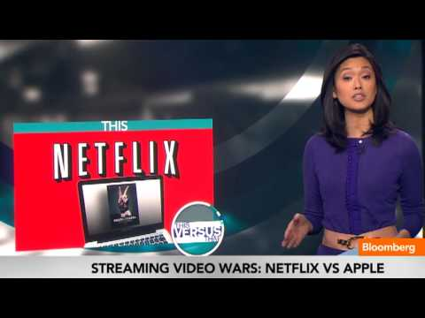 Streaming Video Content Wars: Netflix vs. Apple