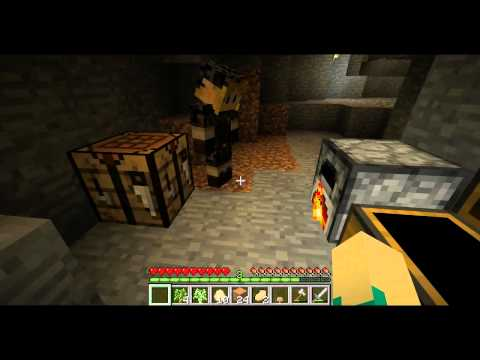 Minecraft: Creeper Mining