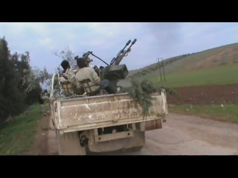Amateur video: Syrian rebels 'shoot down' plane
