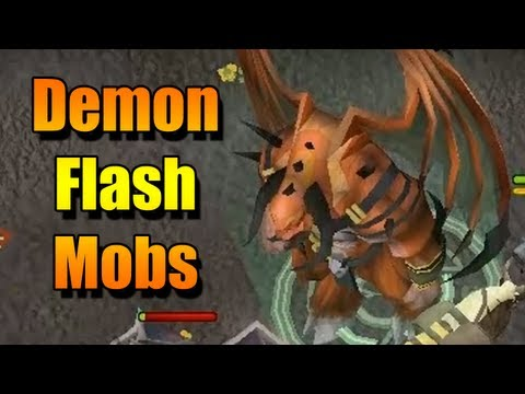Runescape Demon Flash Mobs – A Review From Simon and James