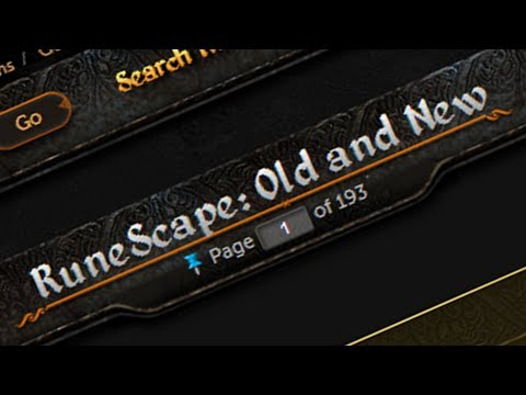 Live Podcast Today + RuneScape: Old and New – Mod Mark Talks