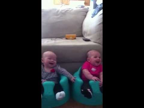 Laughing and Giggling Newborn Babies