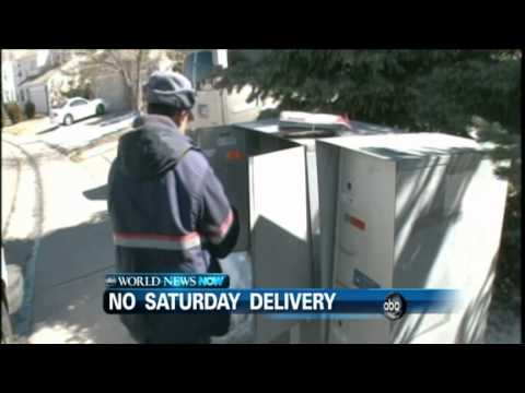 WEBCAST: Saturday Delivery Cancelled