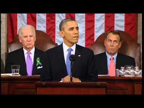 US President Barack Obama makes an emotional gun pledge in his State of the Union address