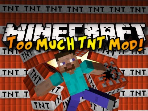 Minecraft Too Much TNT Mod – w/ NEW INTRO! (HD)