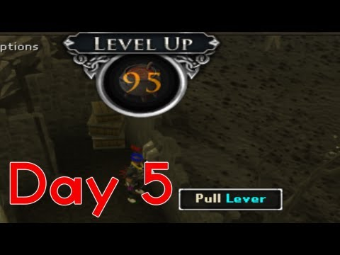 Runescape Sparc Mac's PROGRESS IS BEING MADE✓- Marathon Day 5!