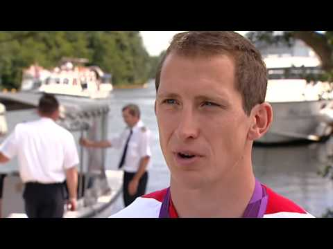 London 2012: Team GB's Ed McKeever speaks after winning 200m sprint kayak gold