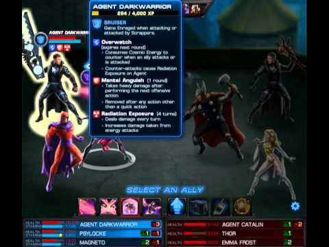Radion Cannon+OsCorp Prototype,Source of the Nile,Psylocke and Magneto