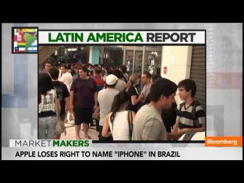 Apple Loses Rights to 'iPhone' Name in Brazil