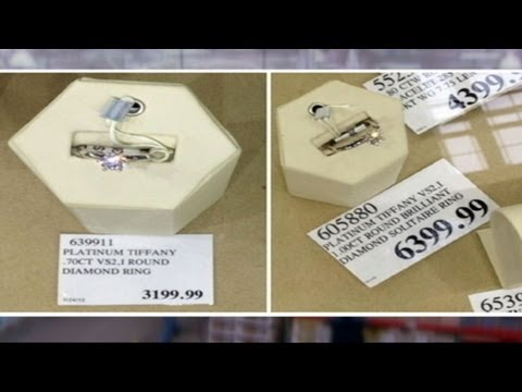 Tiffanys Battles Costco Over Knock Off Diamond Rings