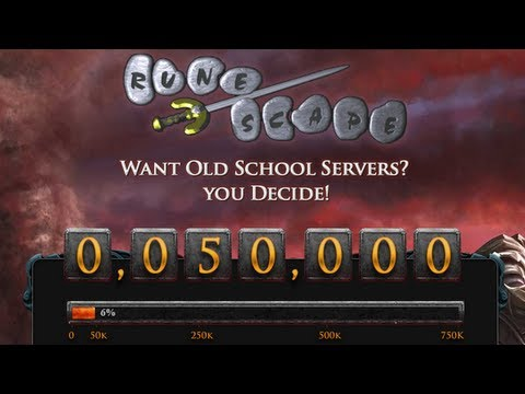 It's Happening… RuneScape 2007 'Old School' Server Vote Hits Required 50k