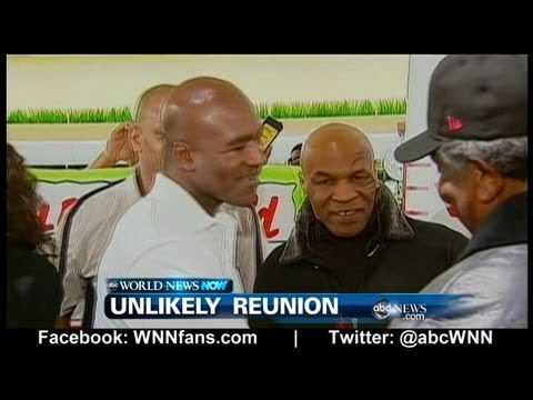 WEBCAST: Mike Tyson & Evander Holyfield Reunion