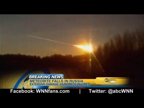Russian Meteor Caught on Camera