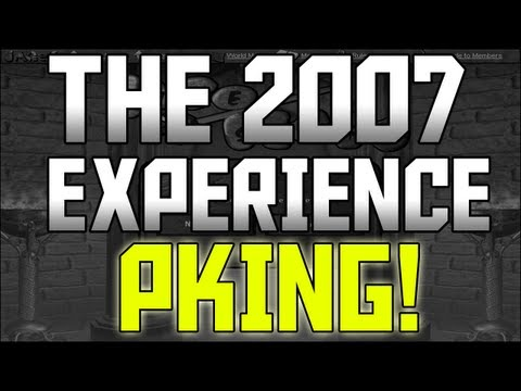 Runescape The 2007 Experience – How Pking Worked!