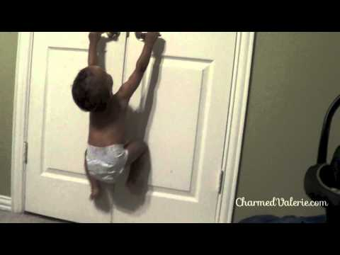 Funny Baby Moment – Toddler is trapped.