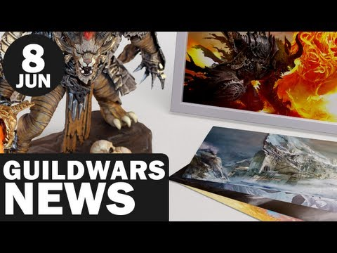 Newsmin – Guild Wars 2 News – 08/08/12 – AUGUST 9 STRESS TEST, Collector's Edition Unboxing & More!