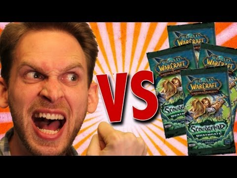 World of Warcraft Cards Unboxing (HD)