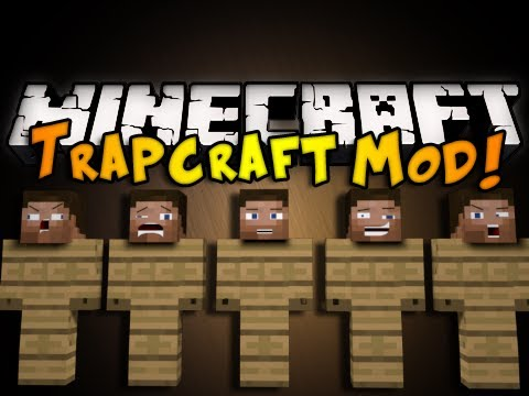 Minecraft Trapcraft Mod – DUMMY STEVES, FANS, SPIKES, & MORE! (HD)