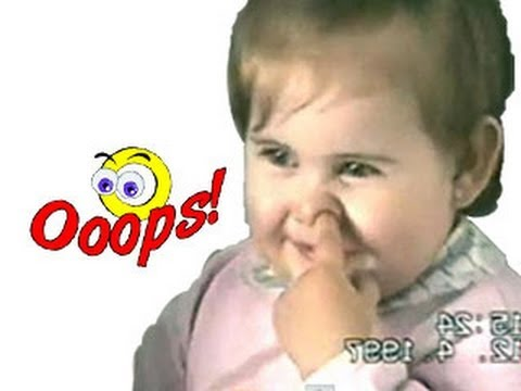 Funny Babies – Funny Babies – Funny Home Videos – Nose Digging Baby Video