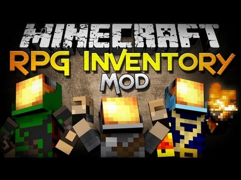 Minecraft Mod Showcase: RPG Inventory – Classes, Jewelry, Weapons, and MORE!